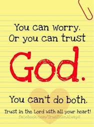 Dont worry - trust