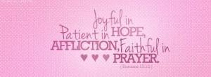 Romans 12 12#2