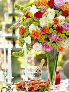 lavish garden party