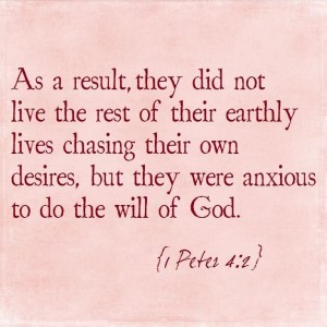 1 Peter 4 2