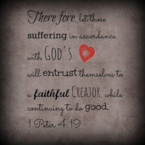 1 Peter 4 19