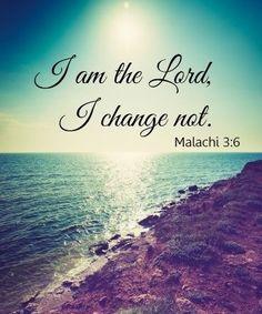 Malachi 3 6