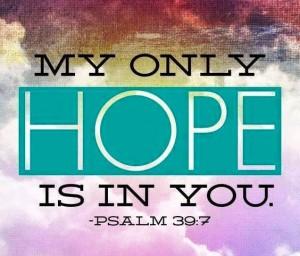 Psalm 39 7