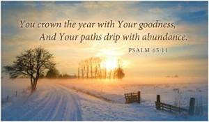 psalm 65 11