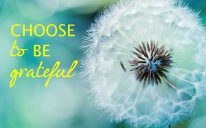 choose grateful